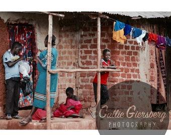 Rainy Day in the Slum | Print