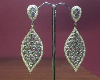 A stunning clip on earrings # women # girls # party # Wedding # any Occasion