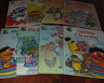 SESAME STREET Book Club ~ A Collection of Eight Titles