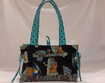 Scooby doo mini bow tucks purse