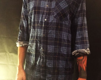 Vintage Blue flannel shirt