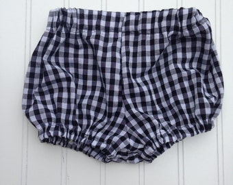Gingham check bloomers