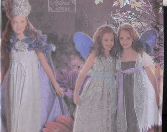 Pattern SIMPLICITY 4952 dress for girls fairy