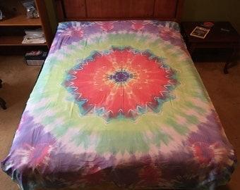 Tie-dye Sheet Twin Mandala