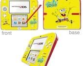 SpongeBob SquarePants Vinyl Skin Sticker for Nintendo DS liteDSiDSi xl3DS3DS xlNew 3DS cstickNew 3DS xl cstick2DS