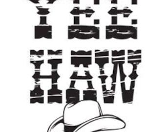 Yee Haw Printed Tee Shirt