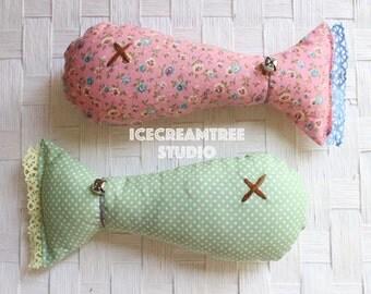 Catnip Fish Pillow Toy, Kitty Kicker, Catnip Toy