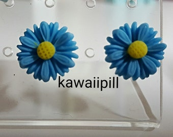 Daisy earstuds / earrings flower cute kawaii harajuku Lolita cosplay girl