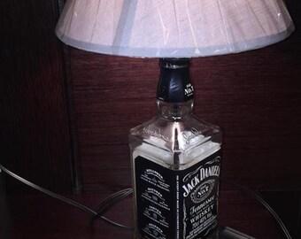 Jack Daniels Glass bottle lamp