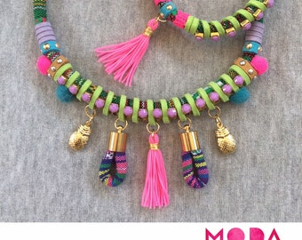 Hippie Glam Necklace and Bracelet