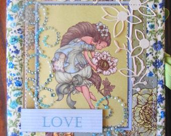 Mini album '' LOVE'' pour fille et femme