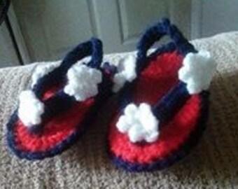 Patriotic Baby Sandal