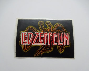 Vintage LED ZEPPELIN Swan Song Sticker
