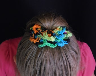 LilMsMandeys Flower Scrunchie (Mutli Colors)