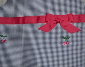 Cherries Dress Size 4T