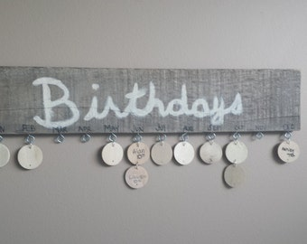 Birthday board