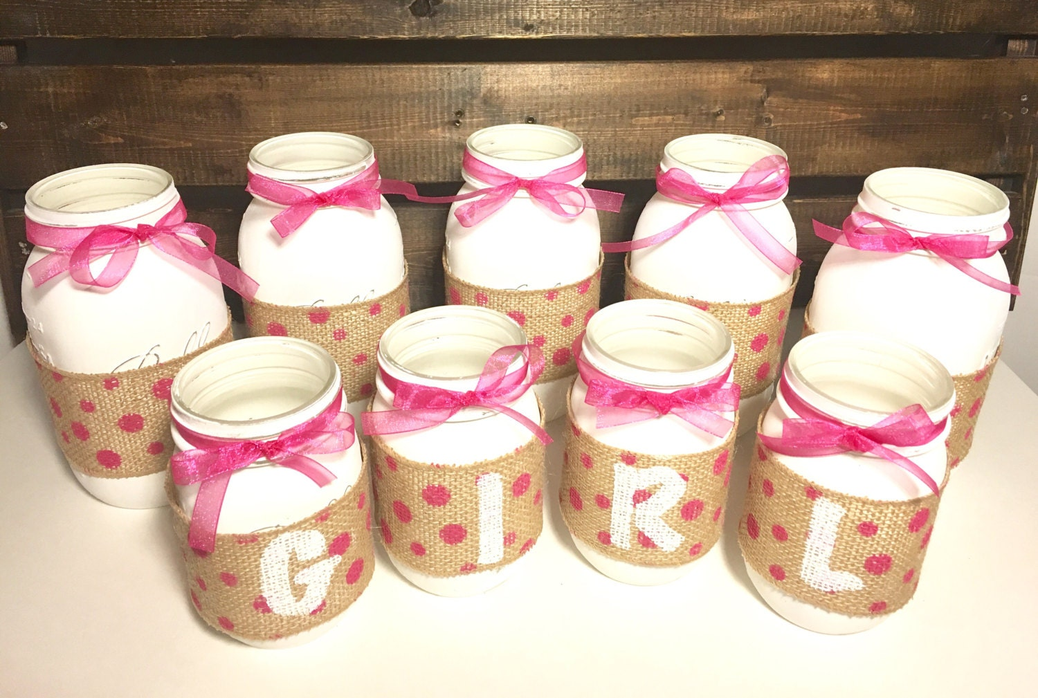 Baby girl decoration package girl baby shower by for Baby shower decoration packages