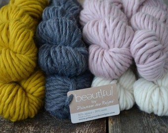 "Alpaca & wool ""Beautiful"", by Snow Princess"