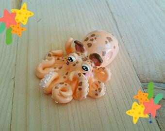 "Handcrafted ""Octopuss"" figurine"