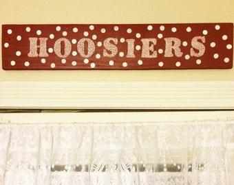 Indiana Hoosiers Wall Decor