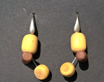 boxwood and PEAR earrings