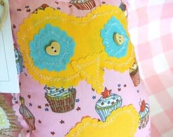 Handmade Chloe Cupcake Owl Plush