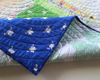 Crib Size Baby Quilt feat. SOMMER by Sarah Jane fabrics
