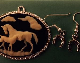 Silver Lucky Shoe Sterling Silver Earrings