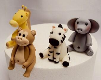 Fondant Zoo Animals