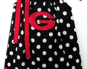 UGA Pillowcase dress