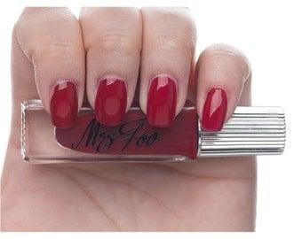 Mrs Foo Nail Polish - Carnelian Red