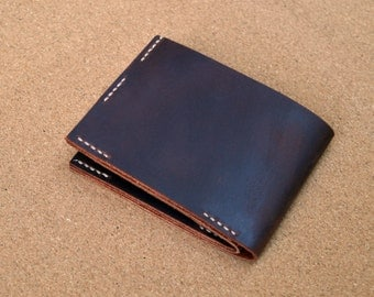 Thick leather wallet
