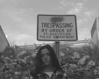 Trespassing by order of St. Augustine PD