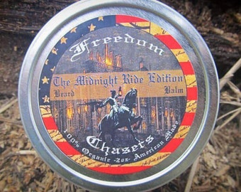 Freedom Chasers Organic & Natural Beard Balm The Midnight Ride Edition Scent