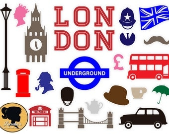 London Silhouette, London Svg, SVG Cut Files for Vinyl Cutters, Screen Printing, Silhouette, Die Cut Machines, & More