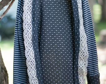 Gretchen Youth Cardigan, Back to school cardigan, Sweater