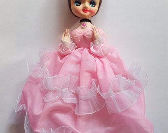 "1970's 12"" Bradley Pose Doll"
