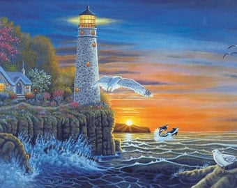 Paint by Number - Adult - Lighthouse