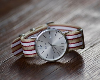 Premium Ballistic Nylon Watch Strap 20mm, Watch band