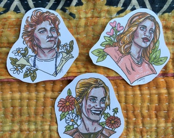 Orange is the New Black Sticker Pack of 3