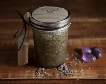 Rosemary Lavender Salt Scrub