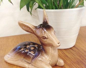 Charleston pottery fawn money box