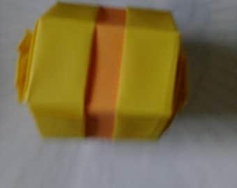 Hexagon origami box