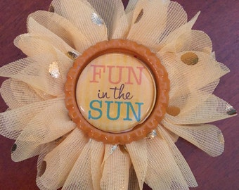 Fun in the Sun Hair Clip