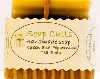 Green Tea and Peppermint Tea Soap
