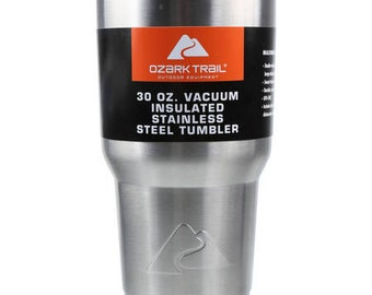 30 oz Ozark Trails cup with decal