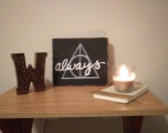 "Harry Potter ""always"" Deathly Hallows Sign"