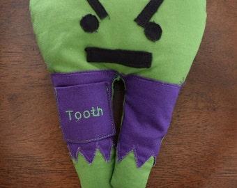 Hulk tooth fairy pillow