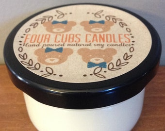 Vanilla Icing - 4oz scented soy candle, hand poured