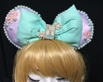 Mermaid Lagoon Pastel Kawaii Cosplay Ears